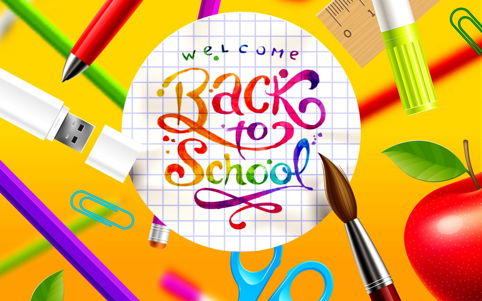 Back to school hd wallpaper quote Back to school wallpaper Back 1920x1200