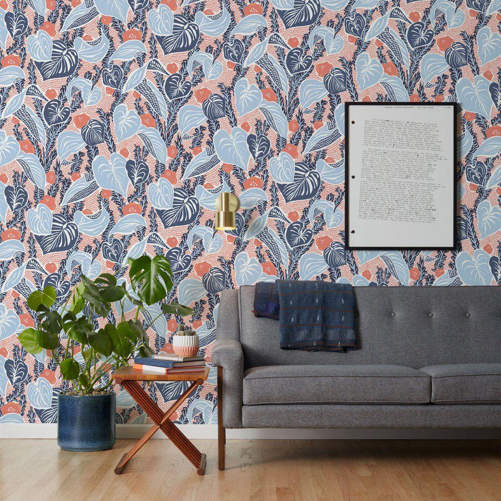 makelike a shop Tangle Blue Sever Wallpaper Wallpaper 1024x1024