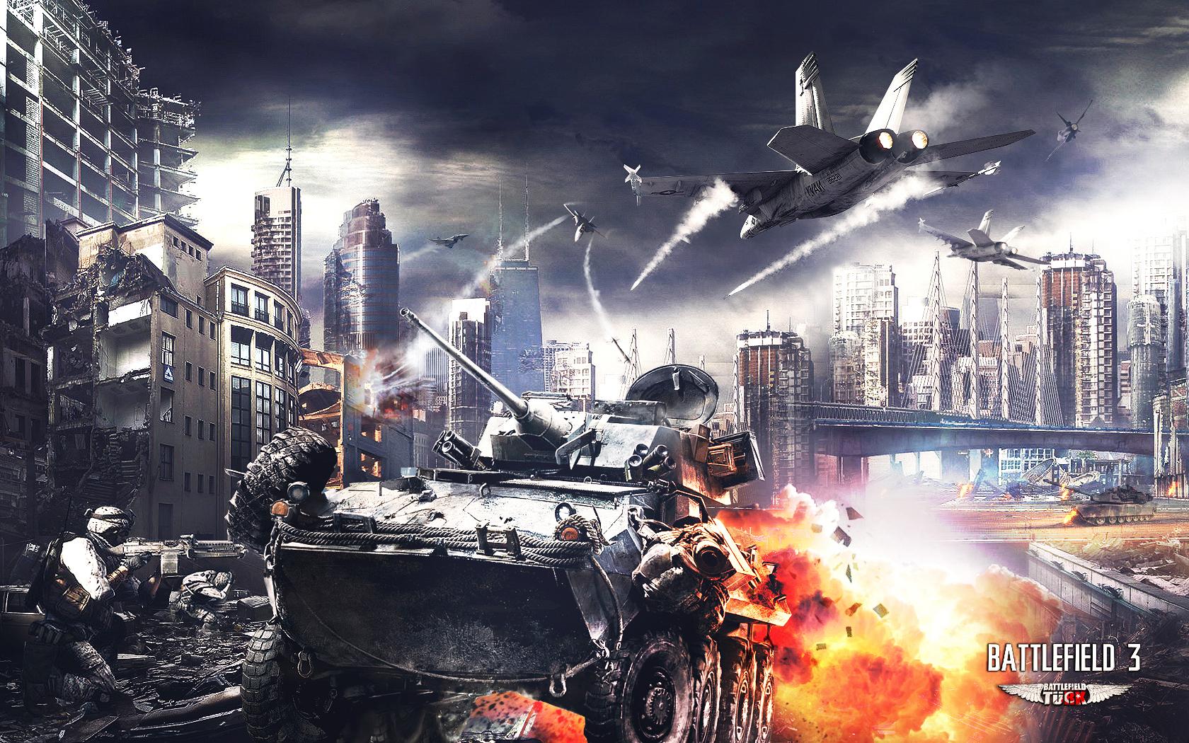 HD]Battlefield 3 Wallpapers Risen Sources 1680x1050