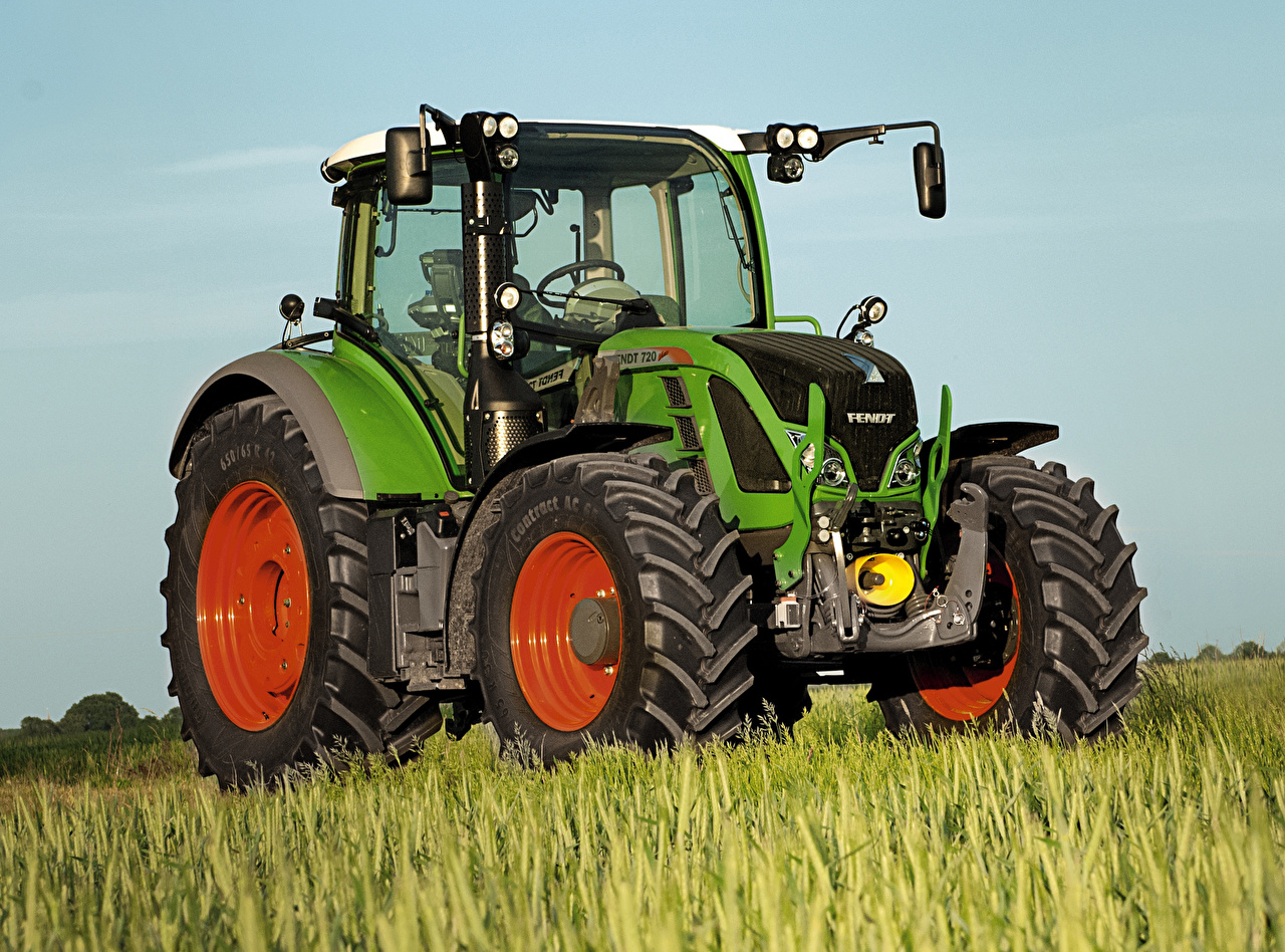 Desktop Wallpapers Agricultural machinery Tractor 2014 16 Fendt 720 1280x948