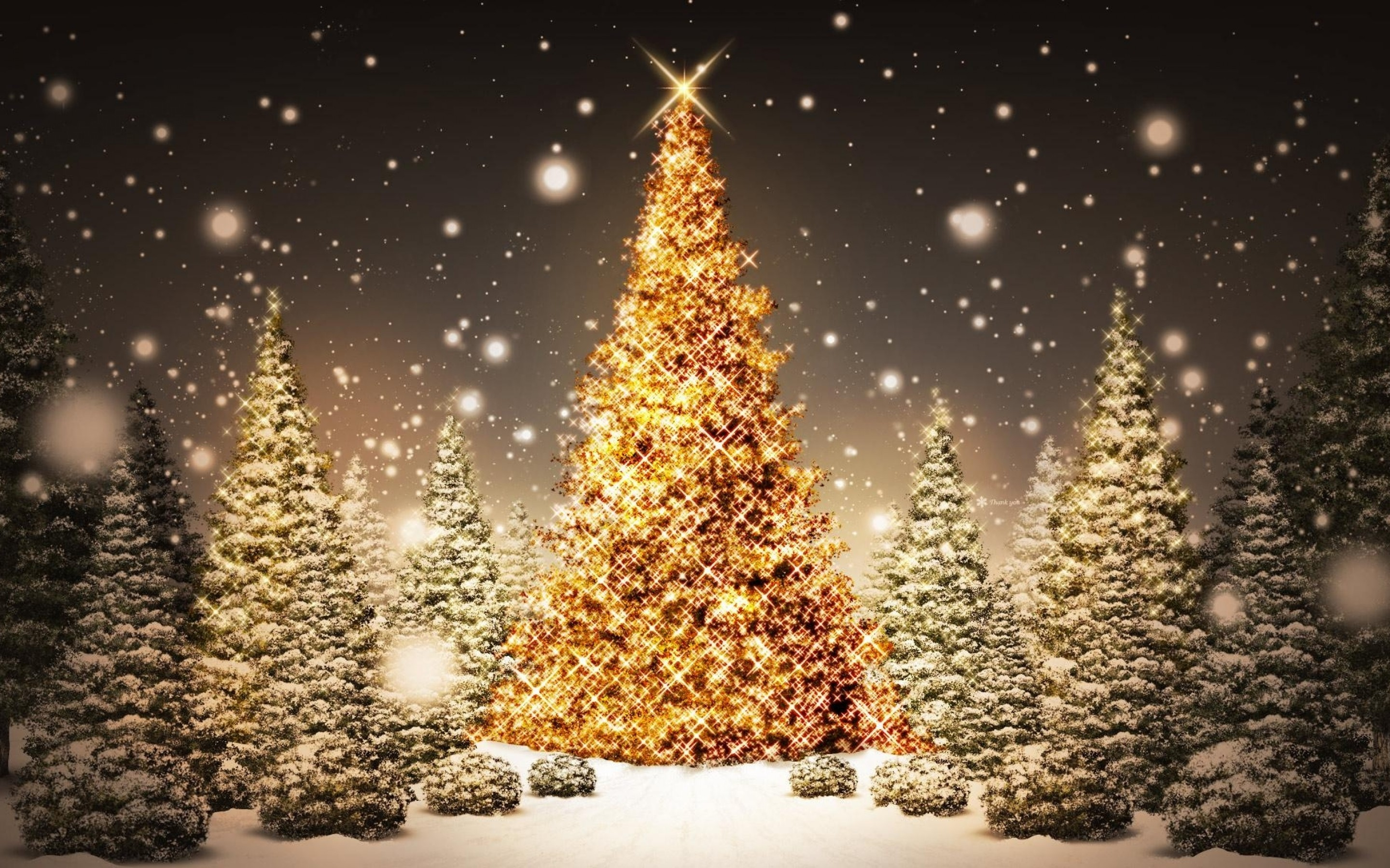 25 Super HD Christmas Wallpapers 2880x1800