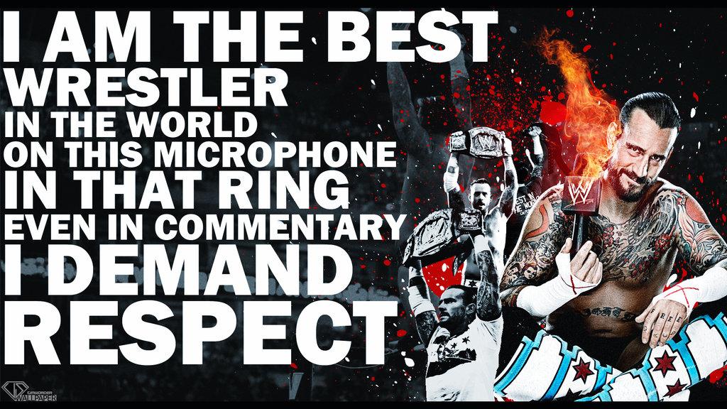 Cm Punk Logo In Punk We Trust Cm punk respect wallpaper by 1024x576