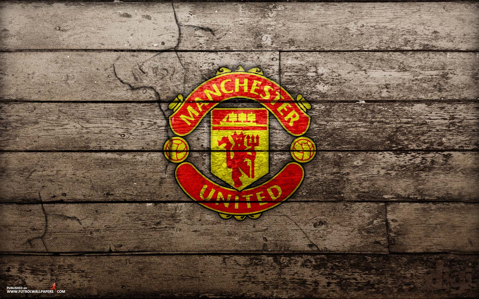 Manchester United Logo Wallpaper 2015