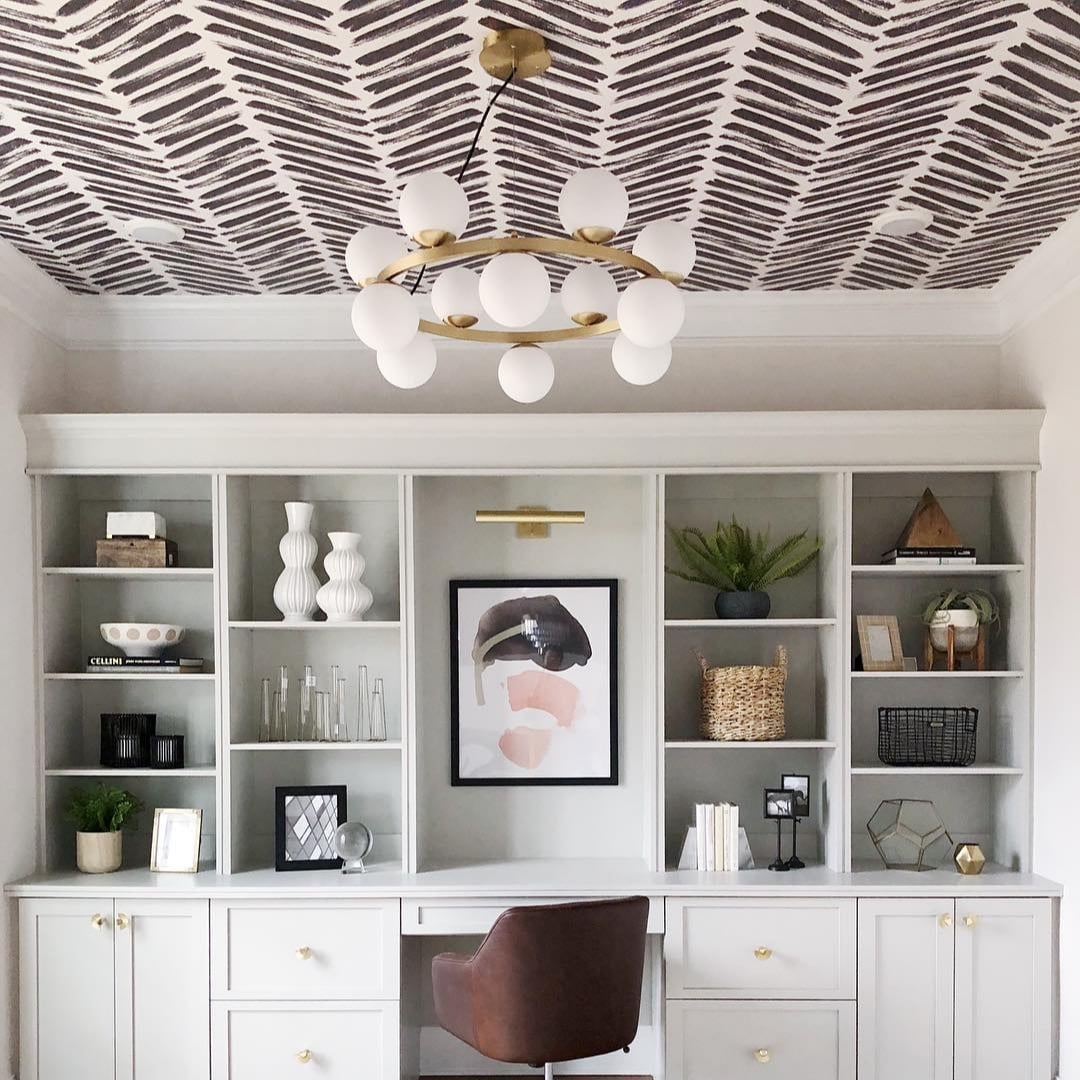 Free Download Ceiling Wallpaper Ideas Popsugar Home