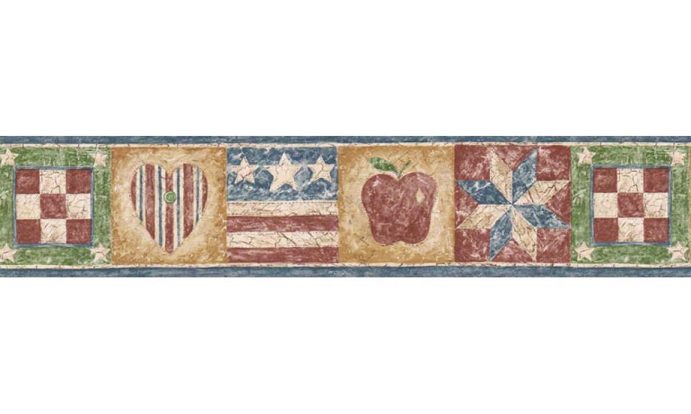 Home Flag Wallpaper Border HIC0022 1000x600