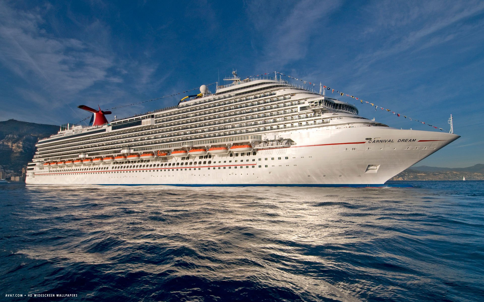 carnival dream cruise ship hd widescreen wallpaper cruise ships 1920x1200