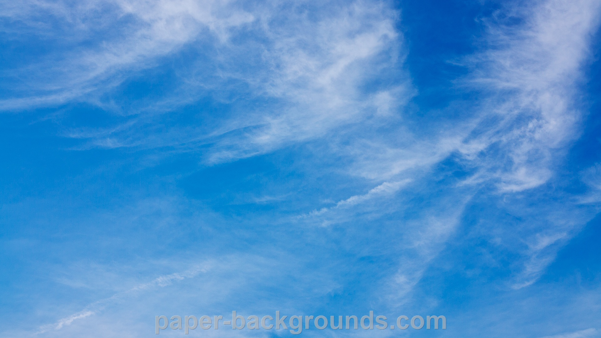 Blue Sky Background Hd 1920 X 1080p Pictures 1920x1080