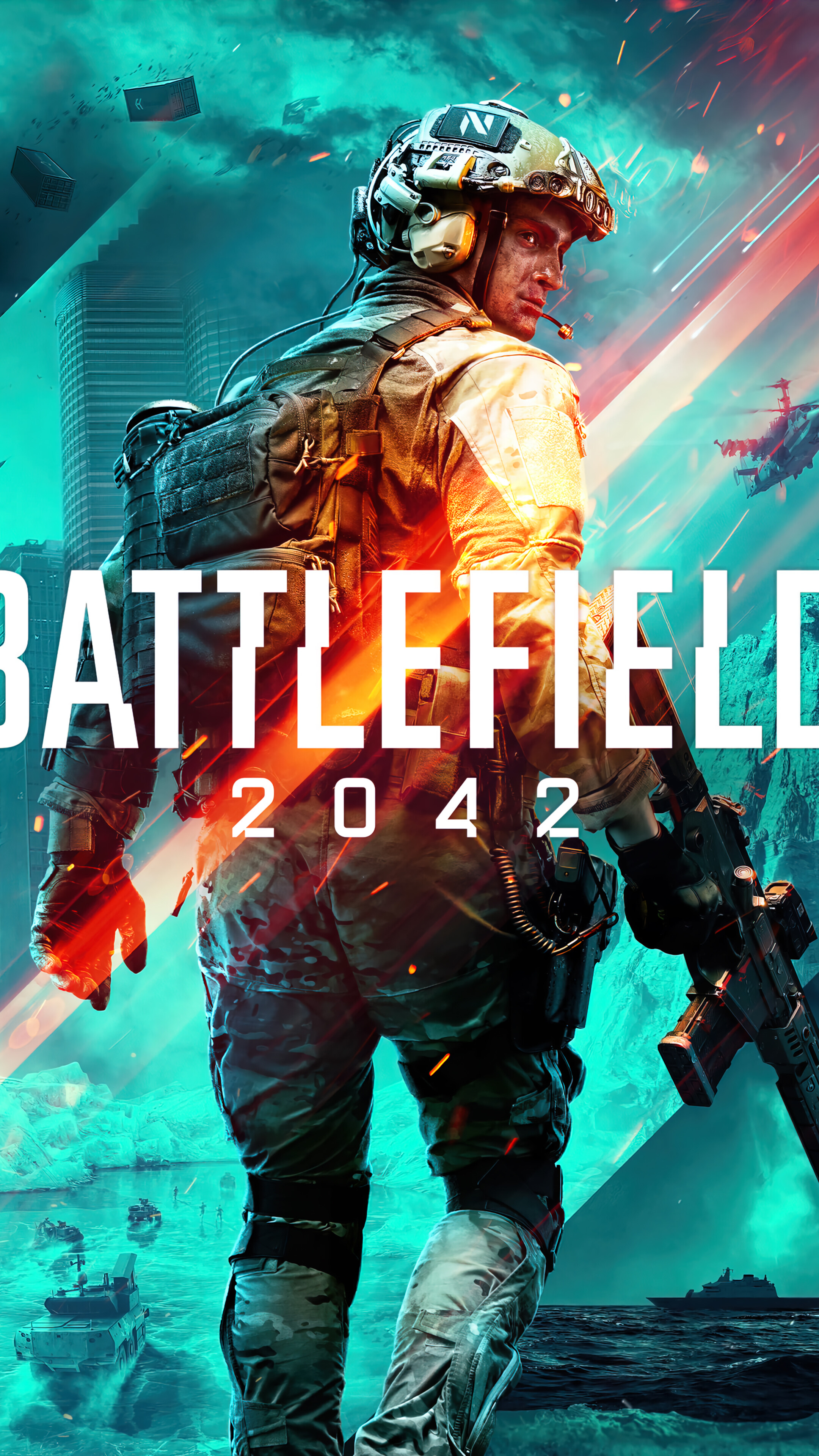 Battlefield 2042 Wallpaper 4K PC Desktop 4611a 2160x3840