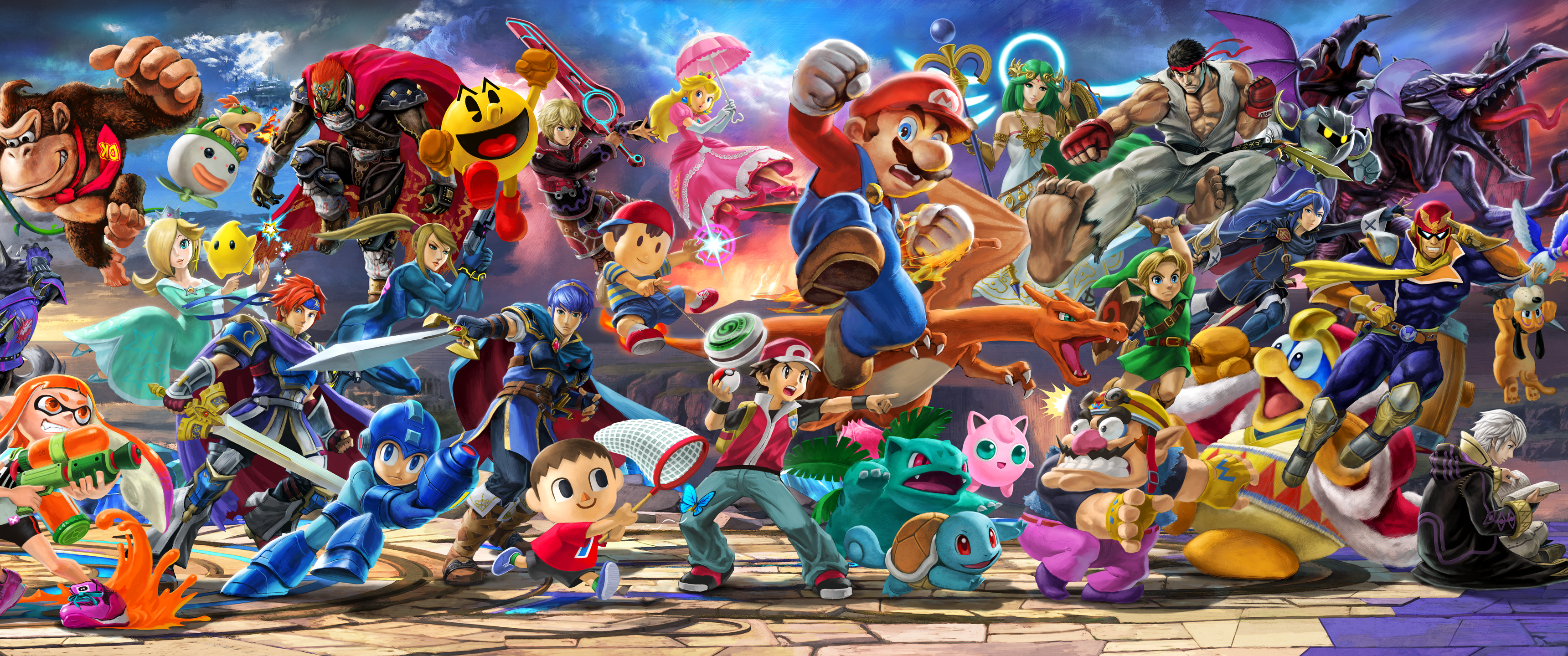 45 Smash Bros Ultimate Wallpapers On Wallpapersafari