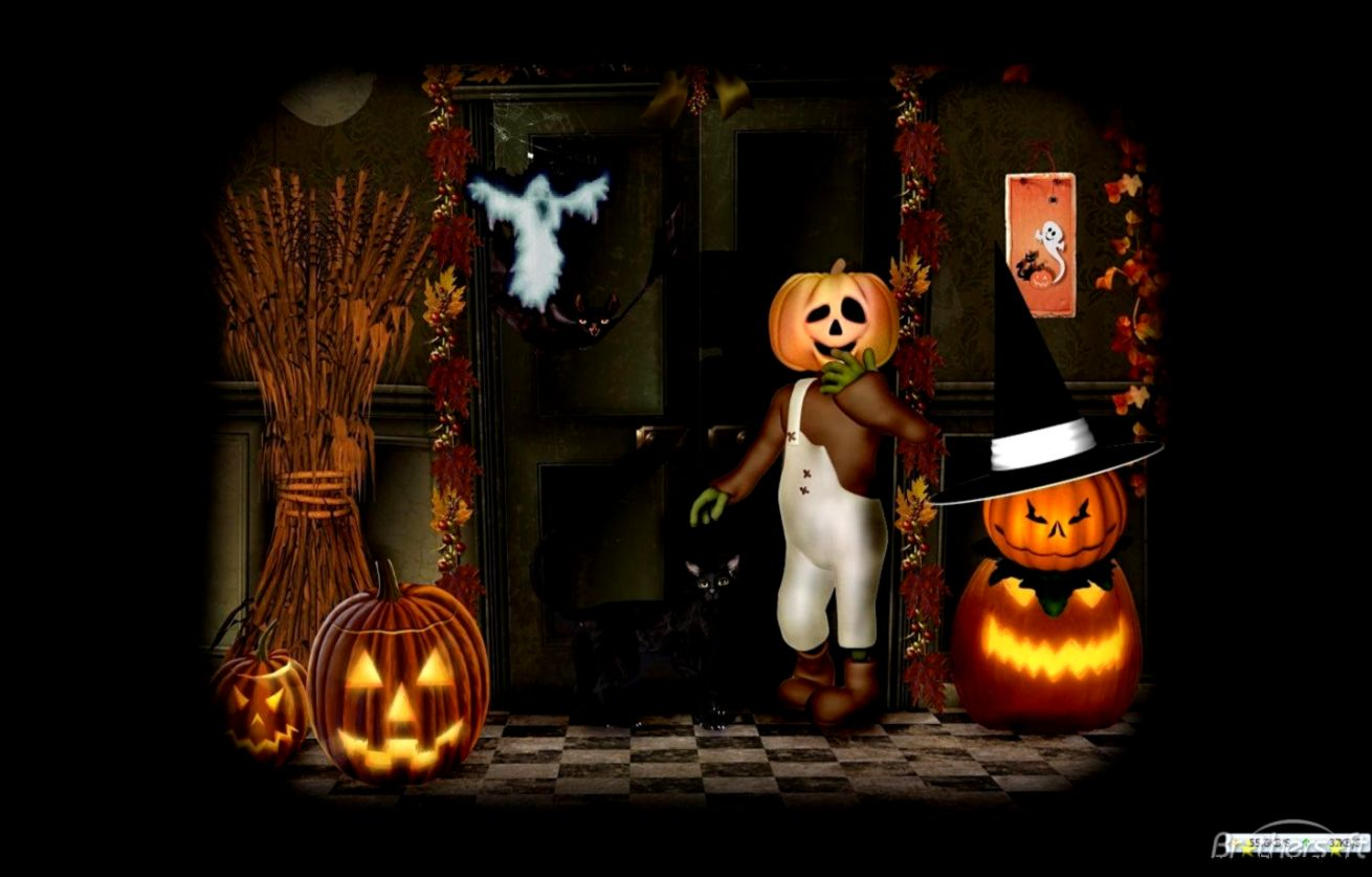 Halloween Animated With Sound Wallpapers Best Hd Wallpapers 1310x837
