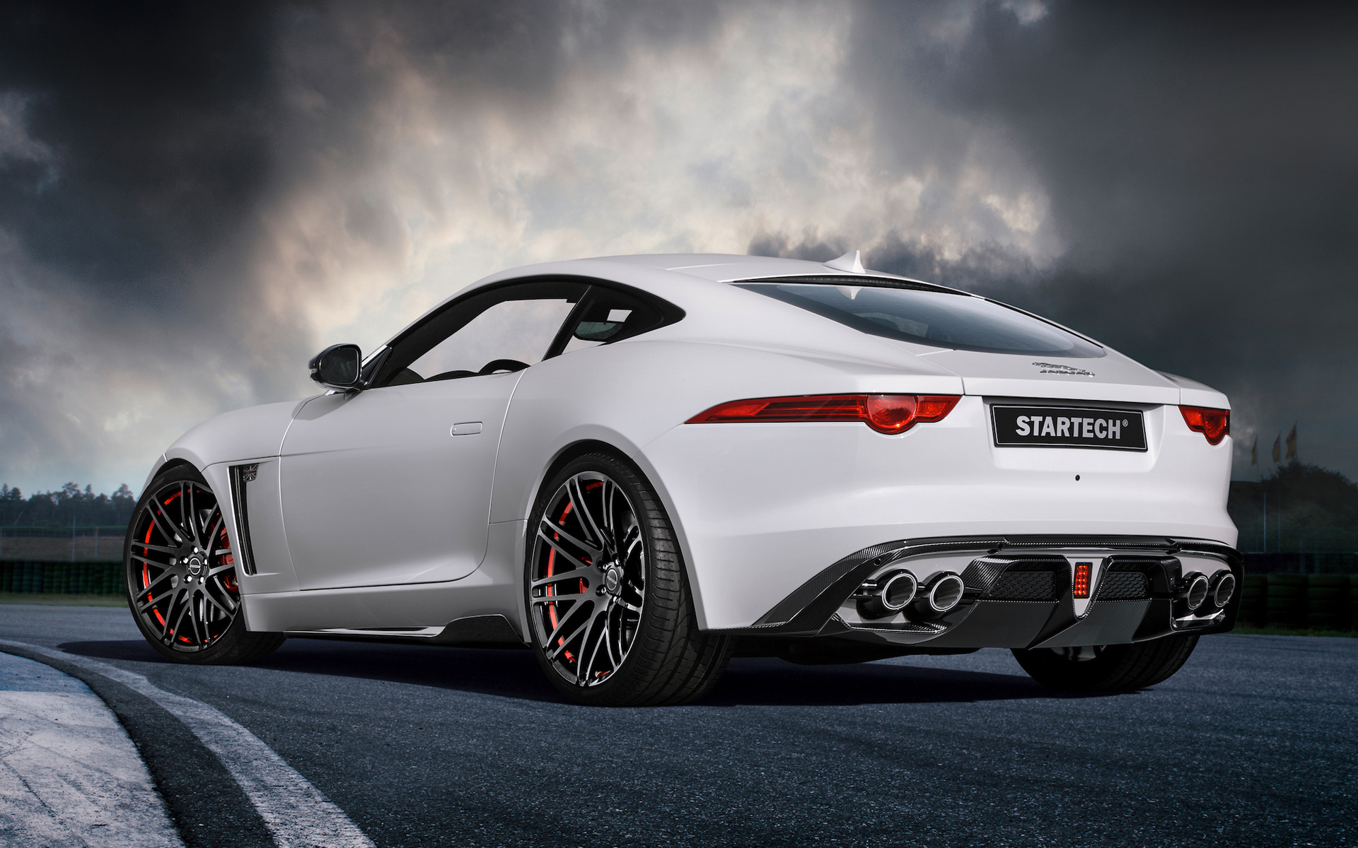 2015 Startech Jaguar F Type Coupe 2 Wallpaper HD Car Wallpapers 1920x1200