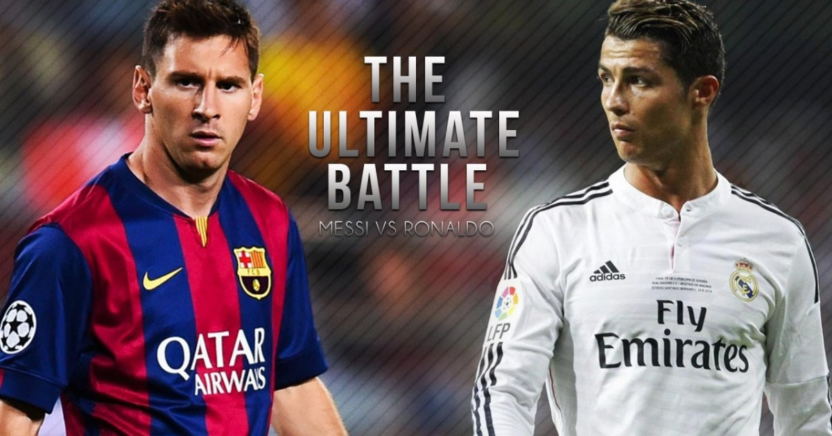 Lionel Messi vs Cristiano Ronaldo zlesenecom Video 1200x630