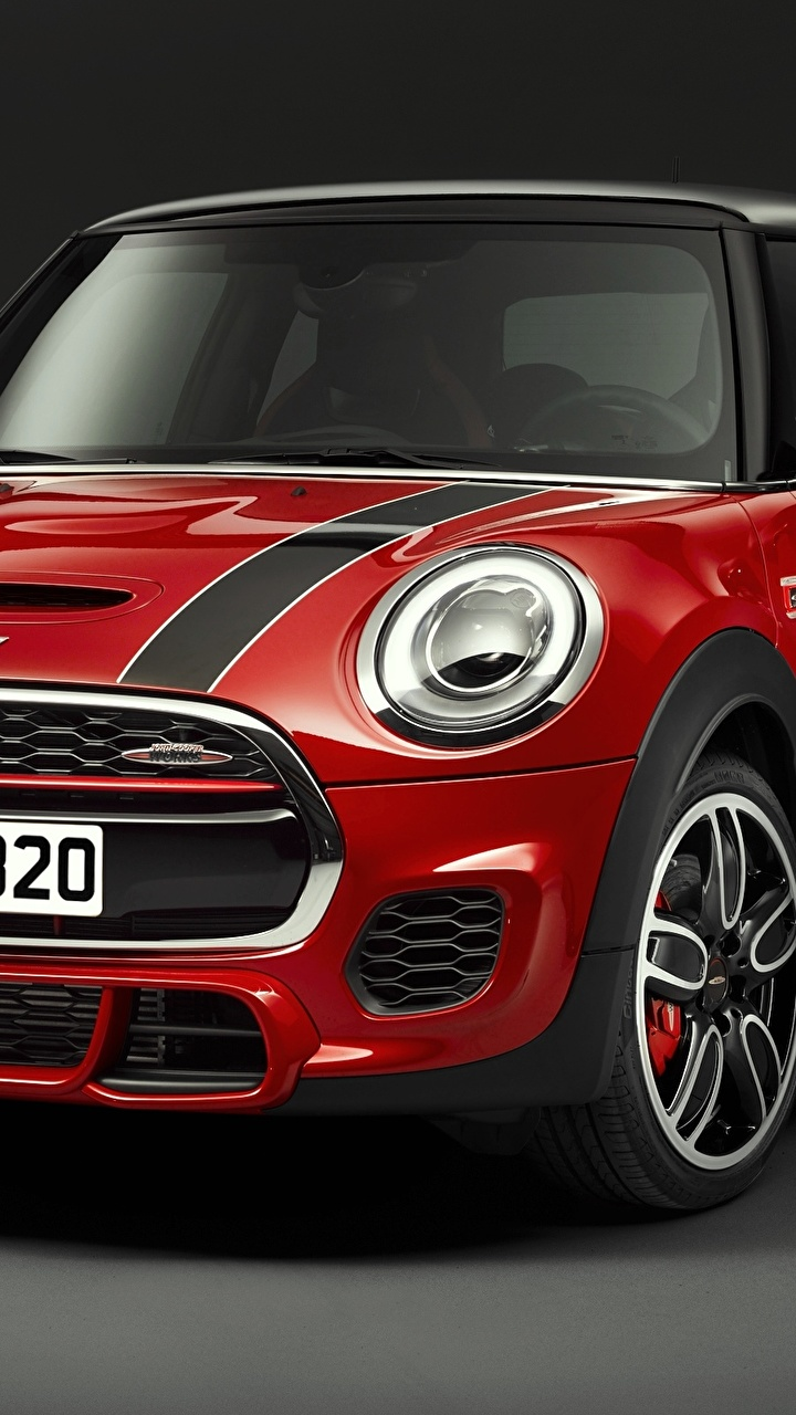 Wallpapers F56 Mini Cooper Red Front automobile 720x1280 720x1280