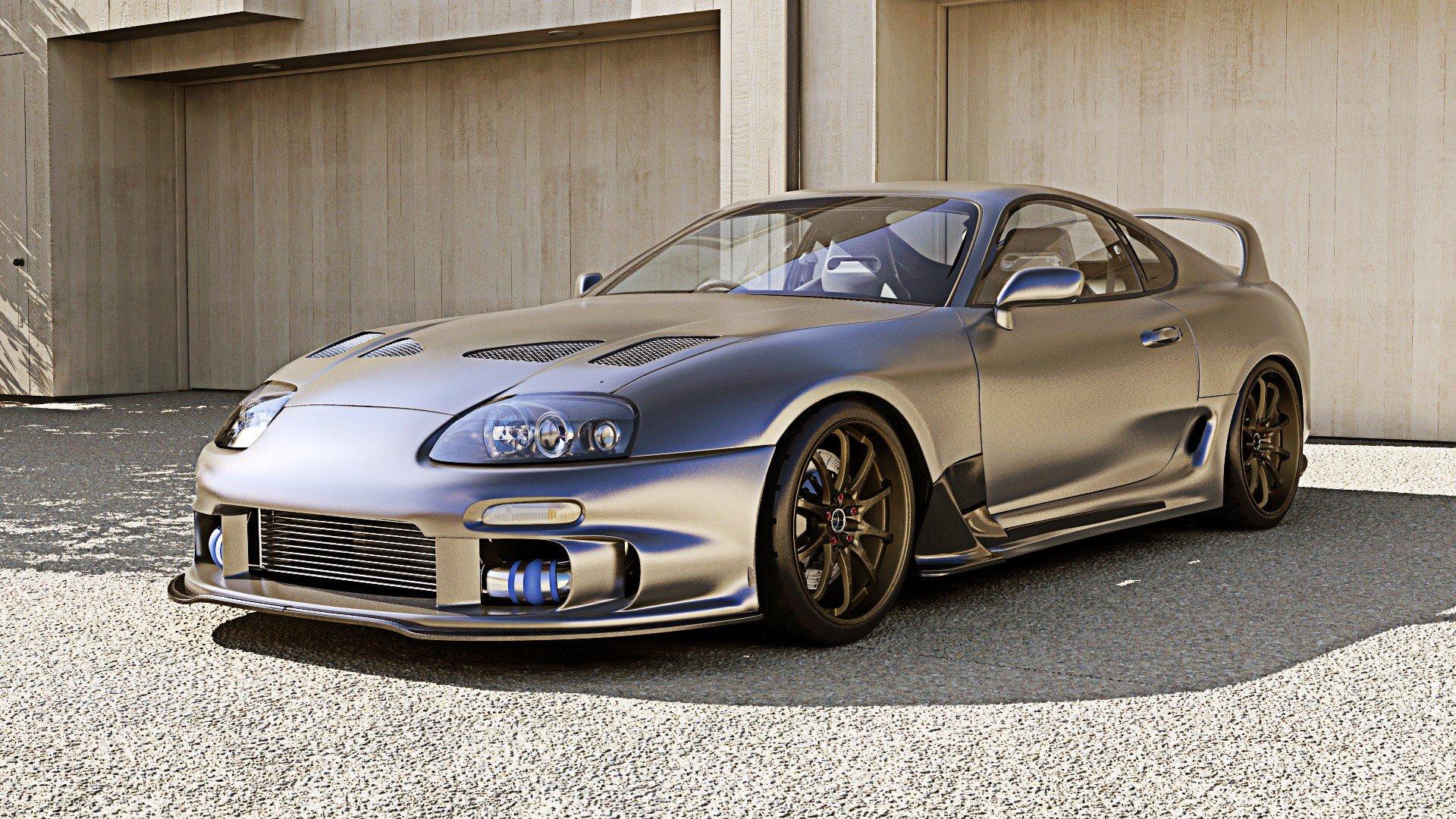 Toyota supra tuning cars coupe japan turbo wallpaper 1920x1080 1920x1080