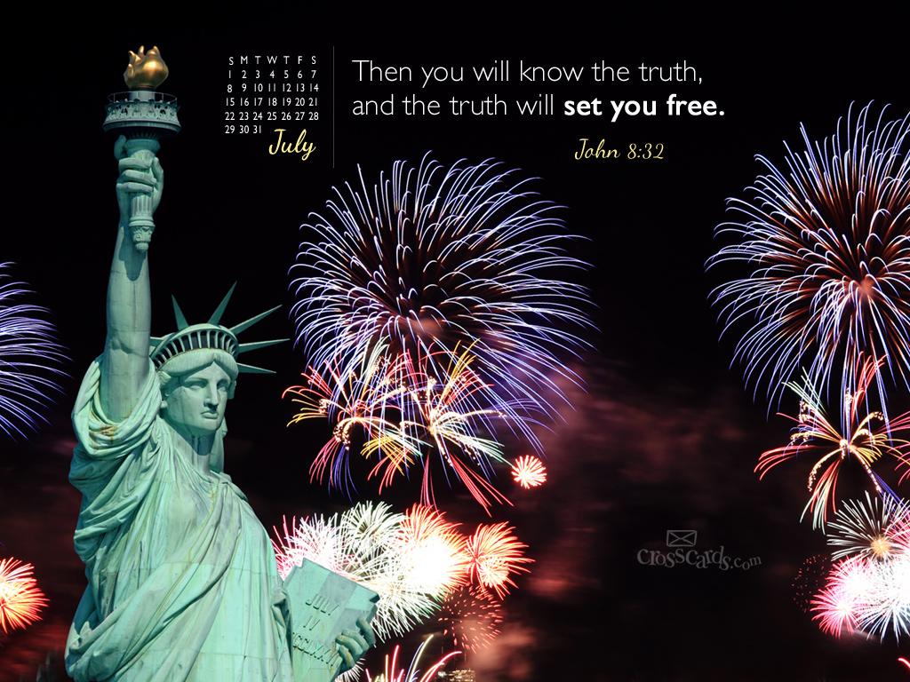 July 2012   Truth Desktop Calendar  Monthly Calendars Wallpaper 1024x768