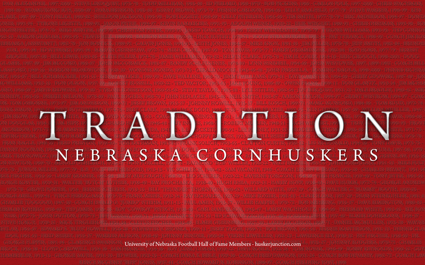 Huskers Wallpapers 1680x1050