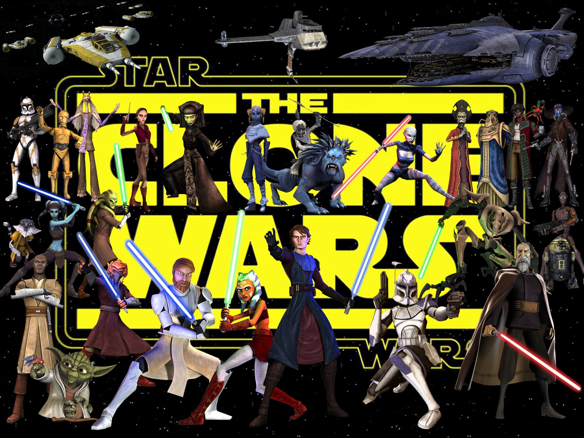 The Clone Wars   Star Wars Wallpaper 29482177 1920x1440