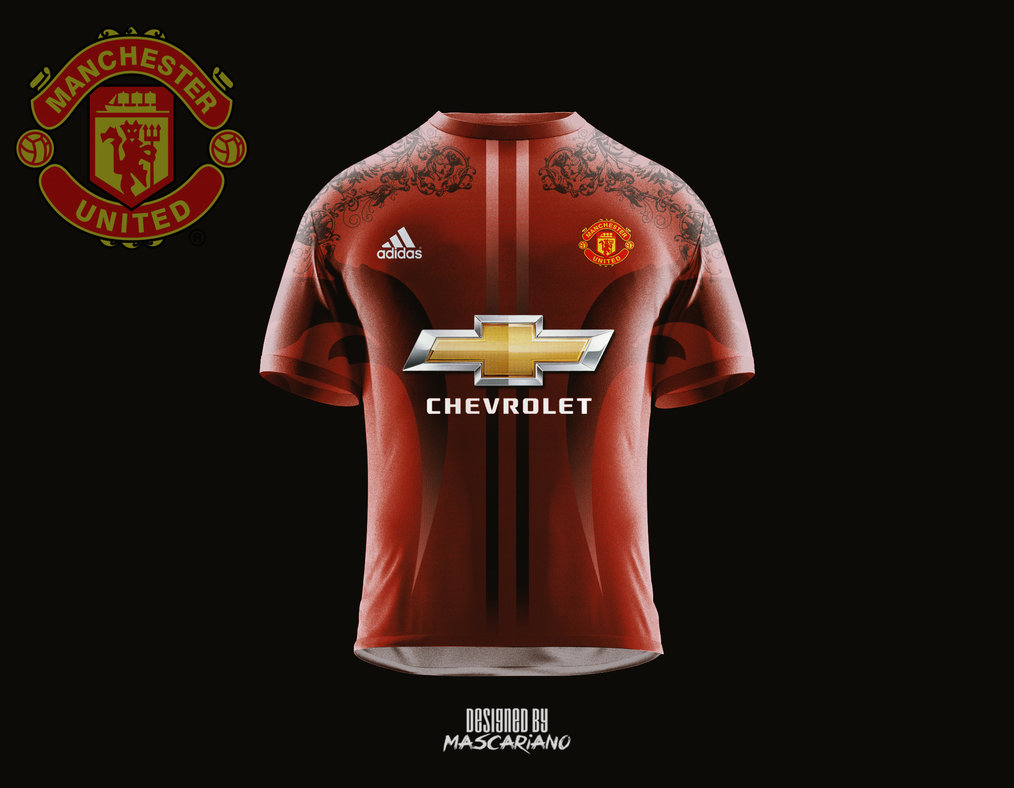 Free Download Manchester United 20172018 Concept Kit By