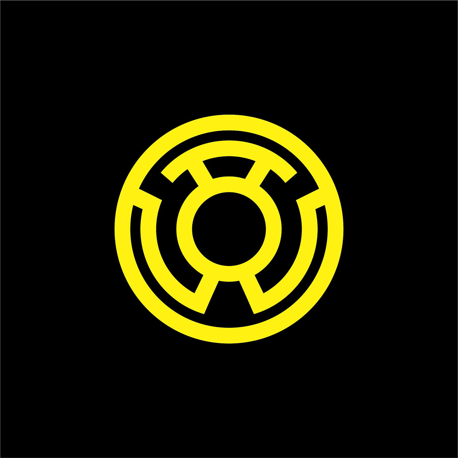 yellow lantern logo - HD 1500×1500