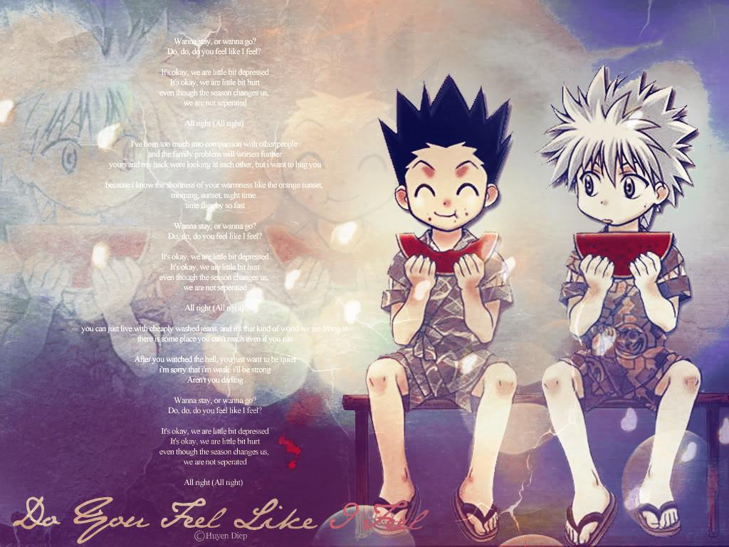 Free Download Hunter X Hunter Gon Killua Anime Wallpaper 1024x768