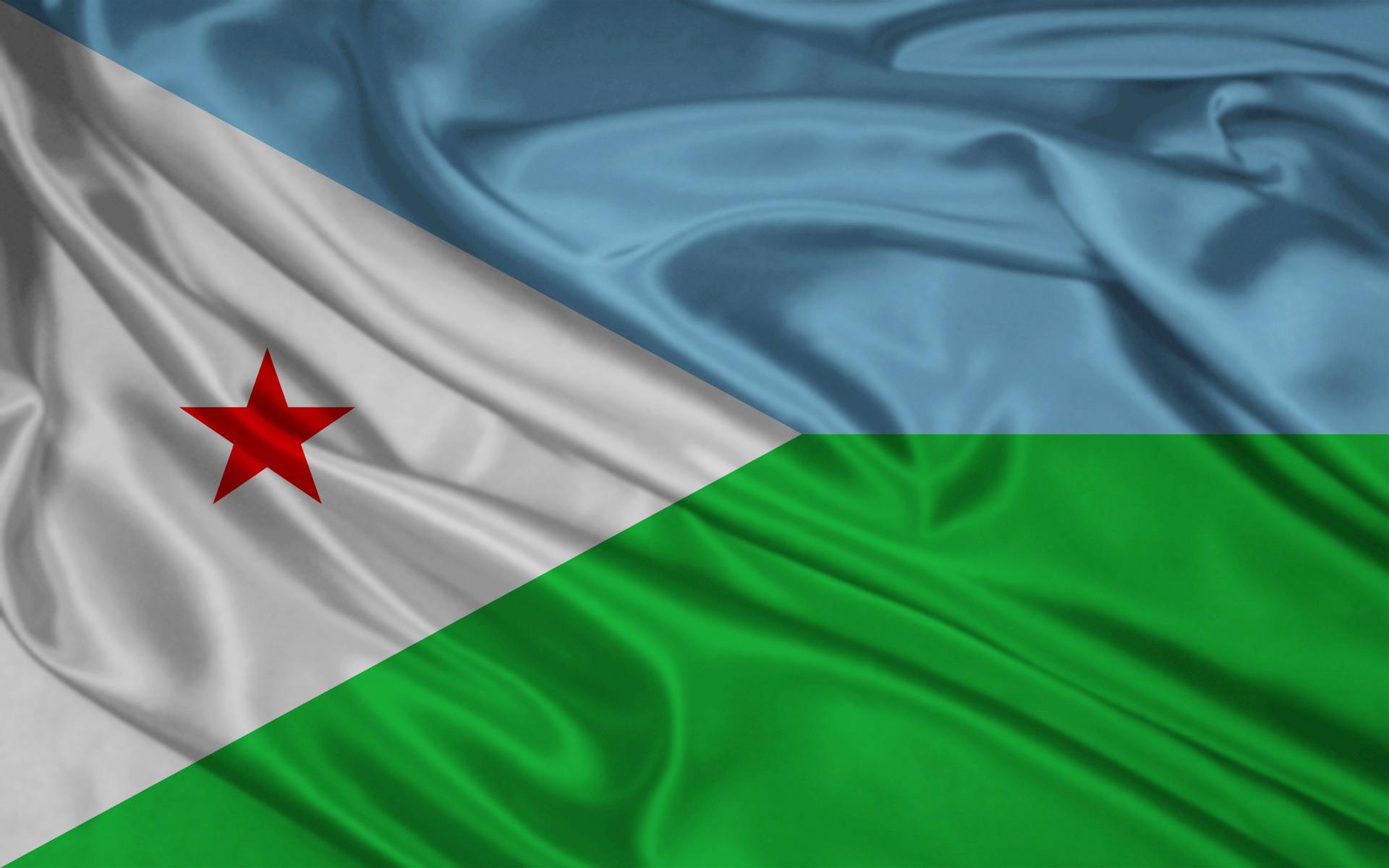 Djibouti Flag wallpapers Djibouti Flag stock photos 1920x1200