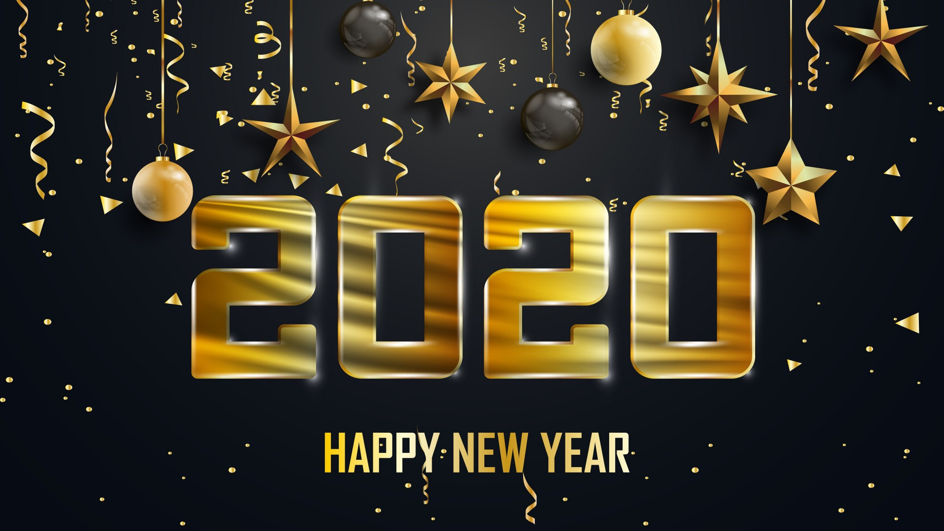 20 Happy New Year 2020 HD Wallpapers for Desktop 1920x1080