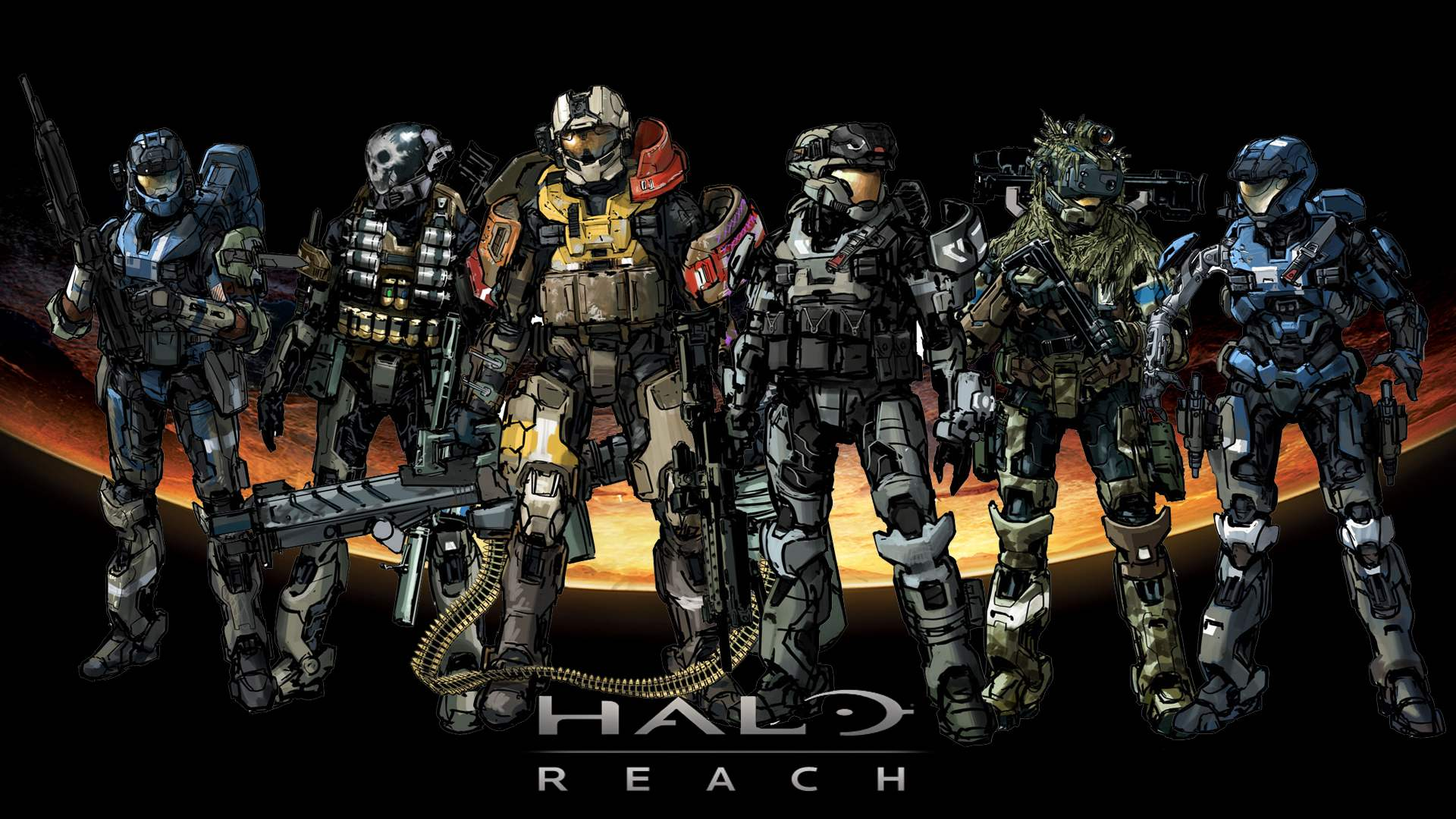 Megapost]Halo Reach Screenshots Wallpapers Comics   Taringa 1920x1080