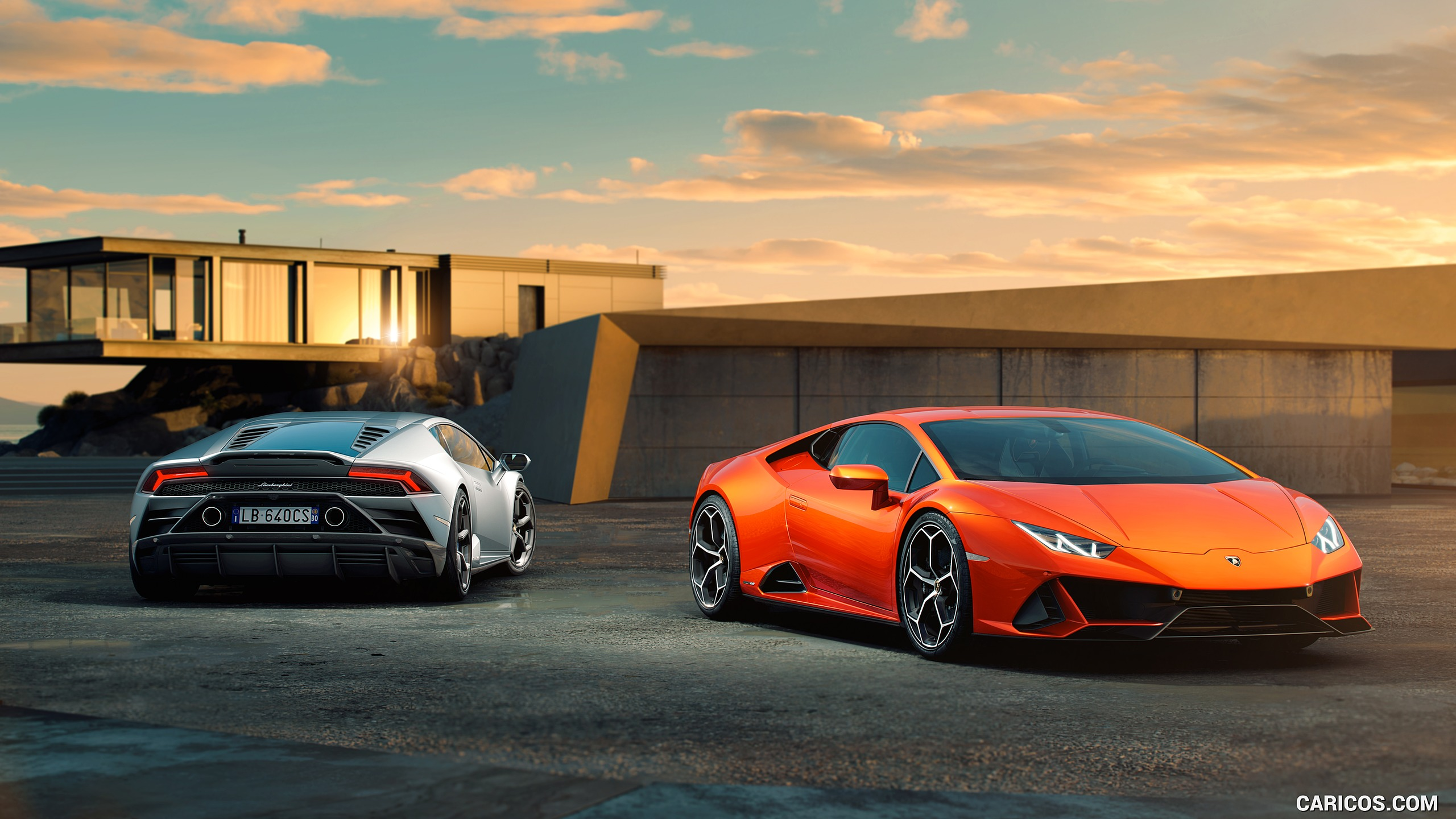 2019 Lamborghini Huracn EVO HD Wallpaper 3 2560x1440