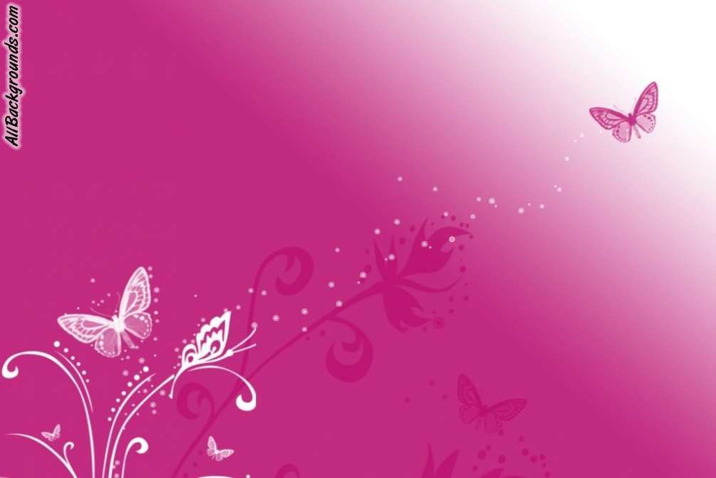 PitchersofPink Pink Butterfly Backgrounds   Twitter Myspace 1005x671