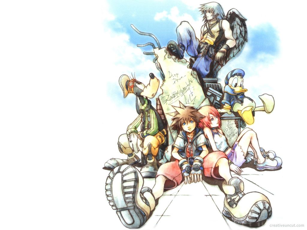 More Cool Kingdom Hearts Wallpapers 1024x768