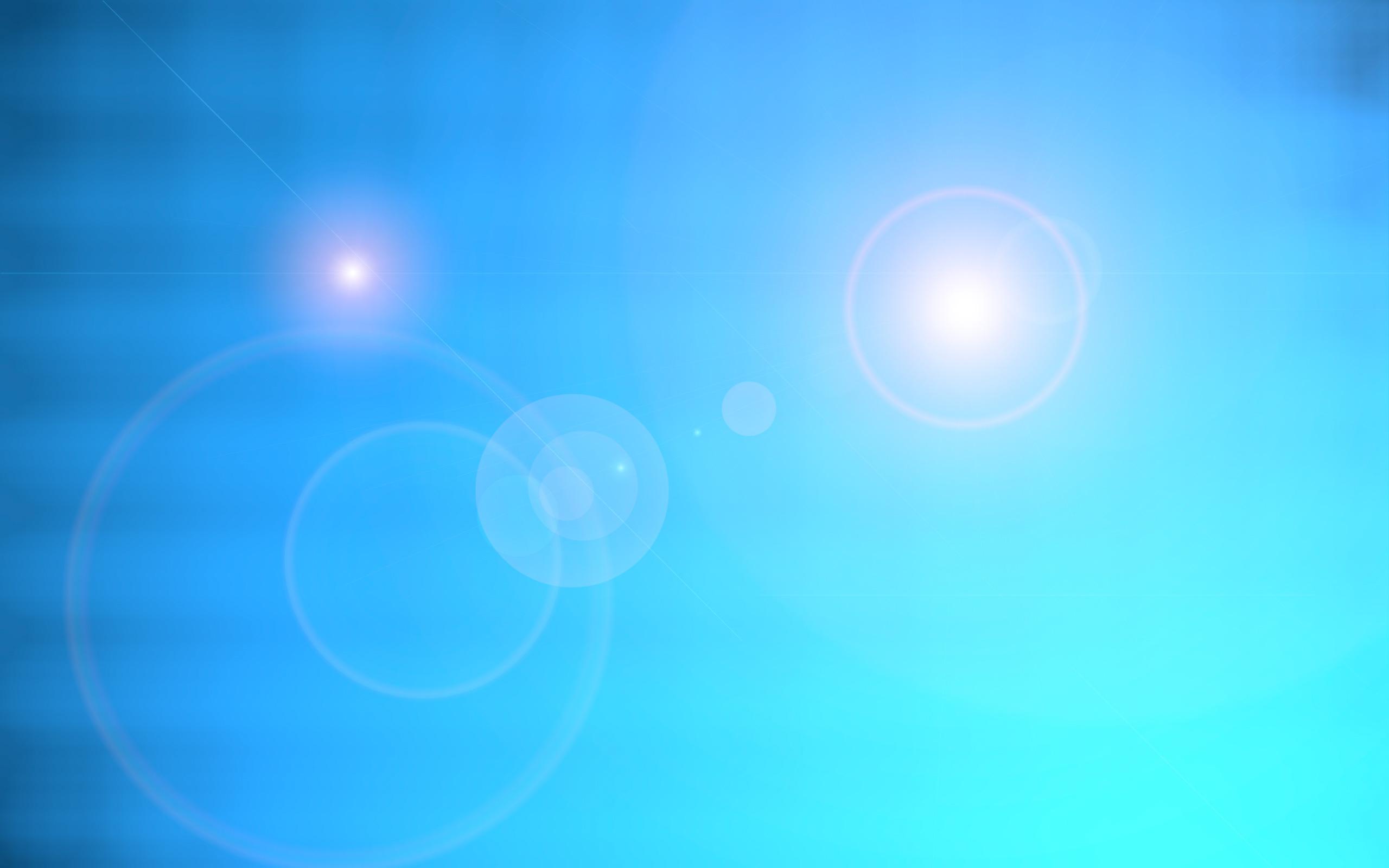 blue desktop background for Mac OS and Windows Vista High 2560x1600