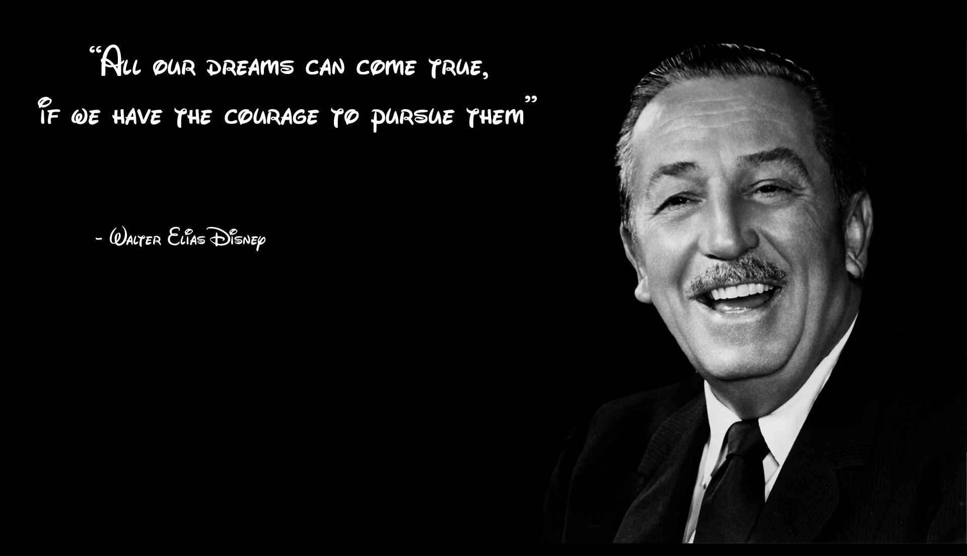 Walt Disney Quotes Wallpaper QuotesGram 1920x1105