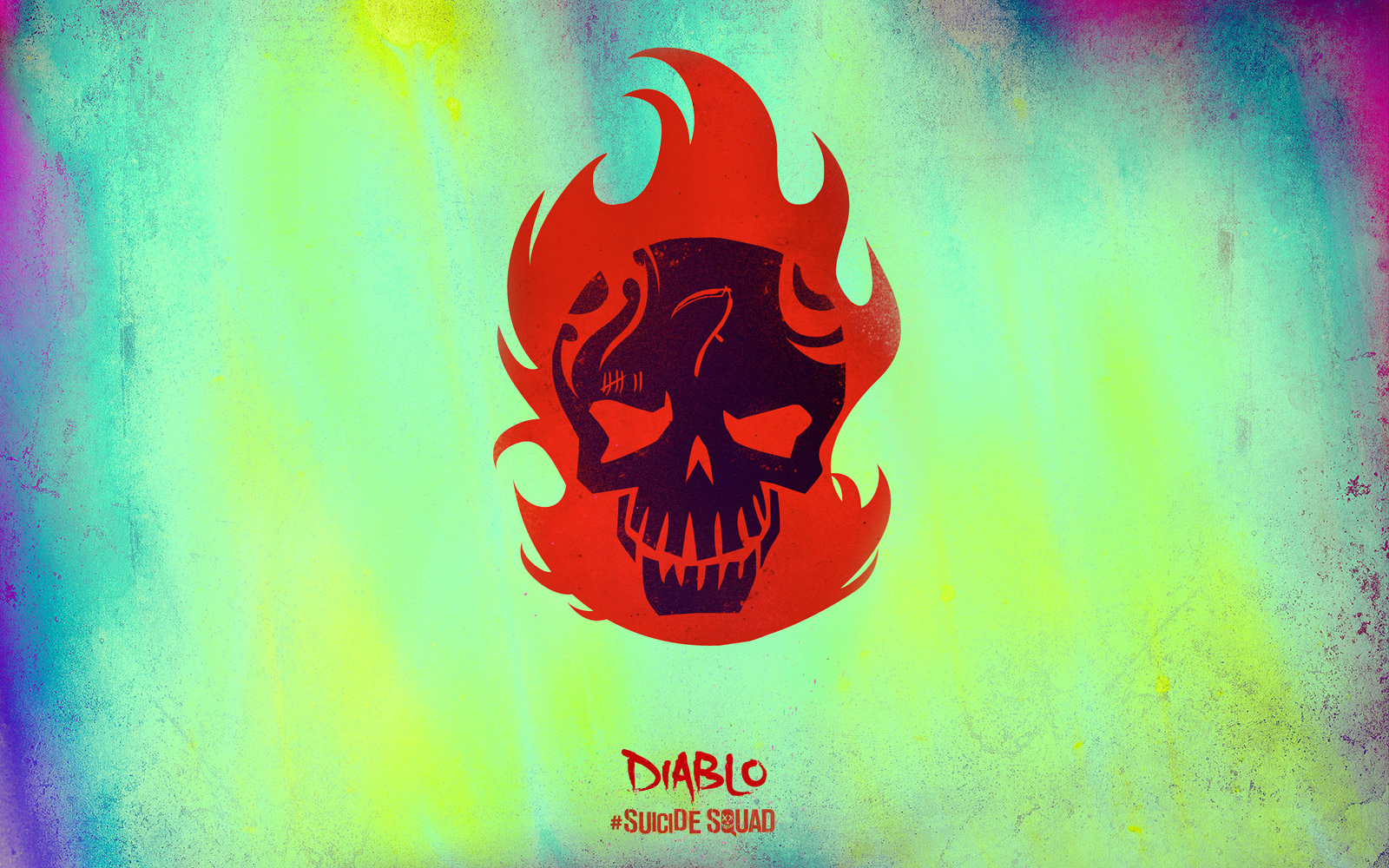 Suicide Squad Skull Wallpaper   Diablo   Suicide Squad Wallpaper 1600x1000