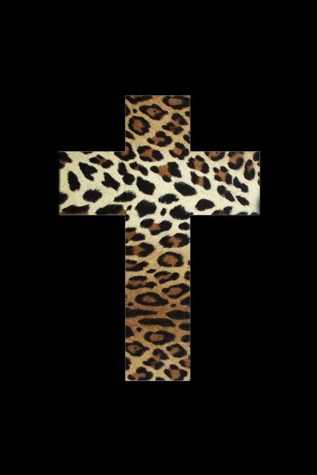 Sfondo leopardato glitter