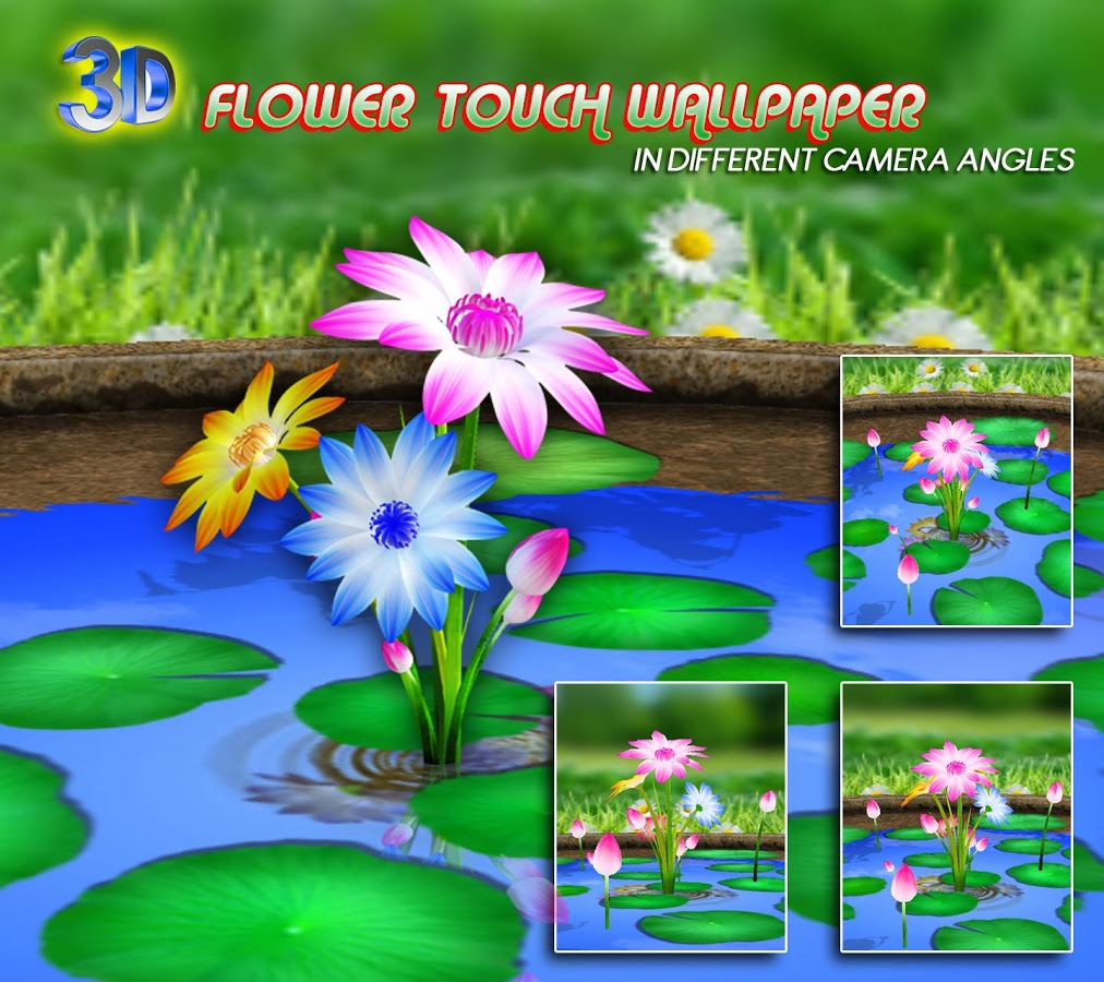 3D Flowers Touch Wallpaper   Android Apps on Google Play 1012x900