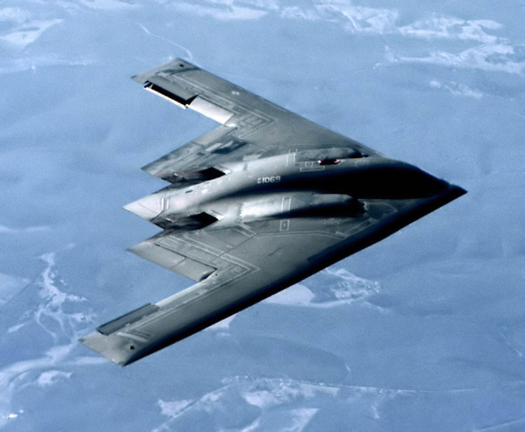 Spirit Stealth Strategic Bomber Military Aircraft Pictures 750x617
