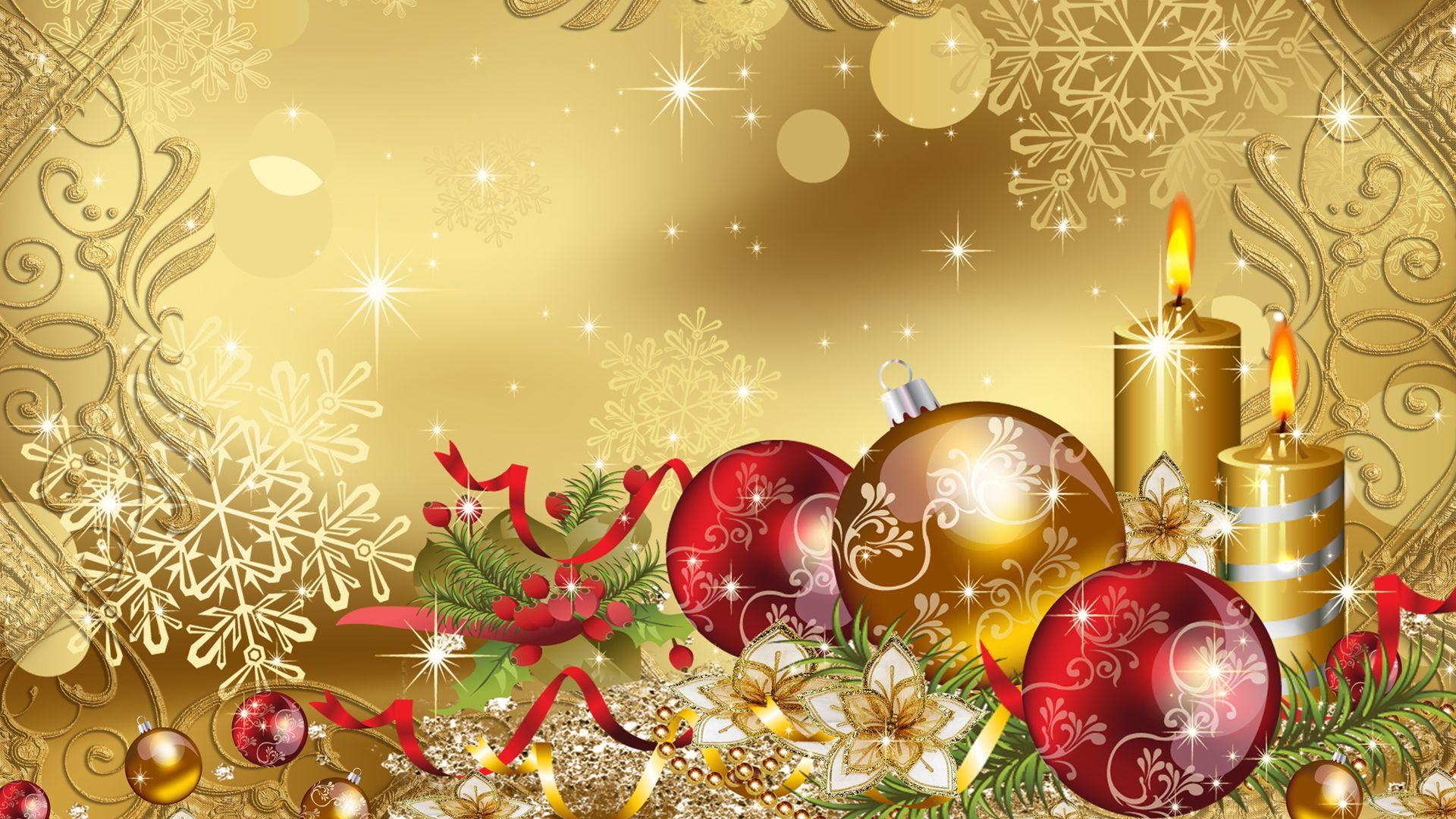 Christmas Backgrounds 110 images in Collection Page 1 1920x1080
