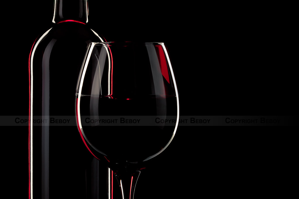 Wine on black background My Facebook page My YouTube chann Flickr 1024x683