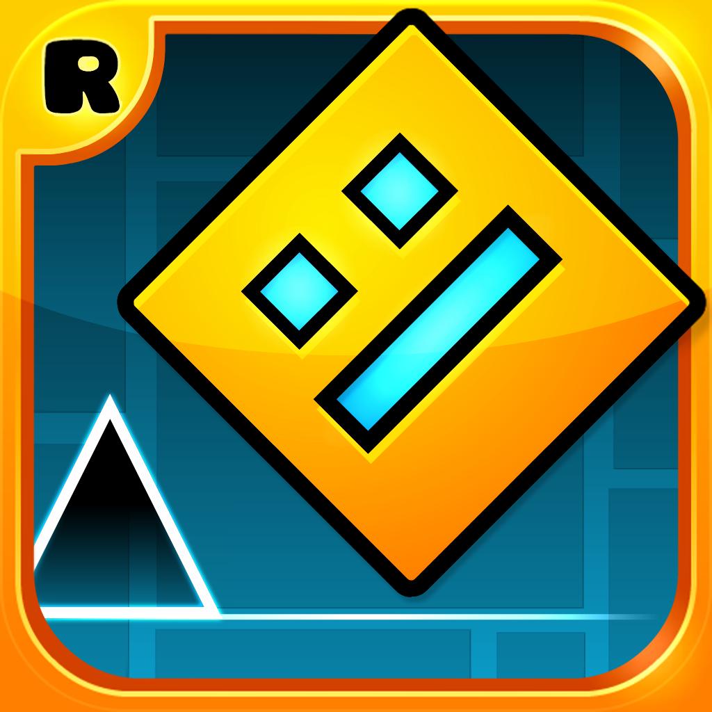Geometry Dash by Robert Topala icon 1024x1024