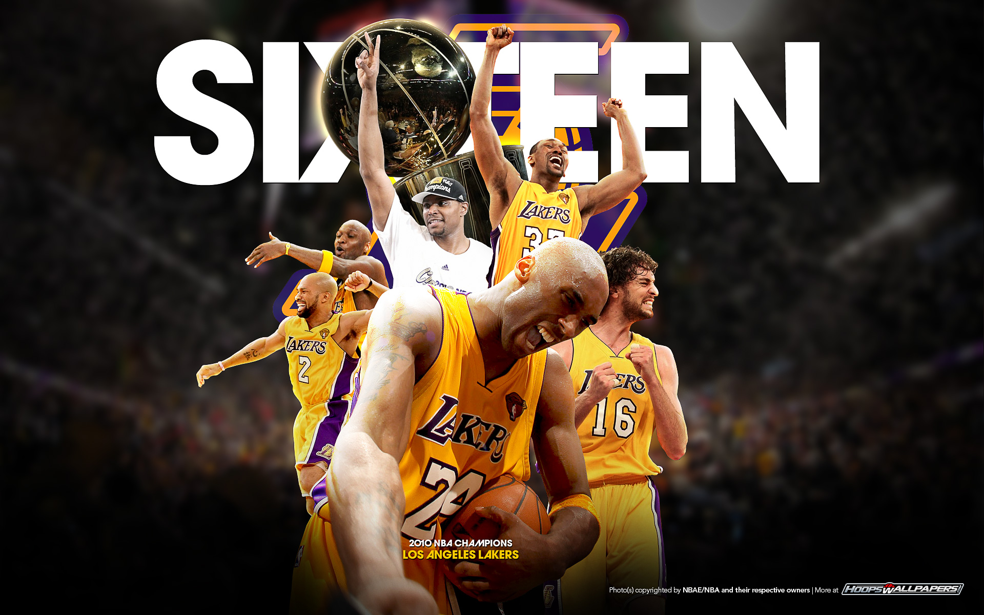 [76+] Lakers Championship Wallpaper on WallpaperSafari