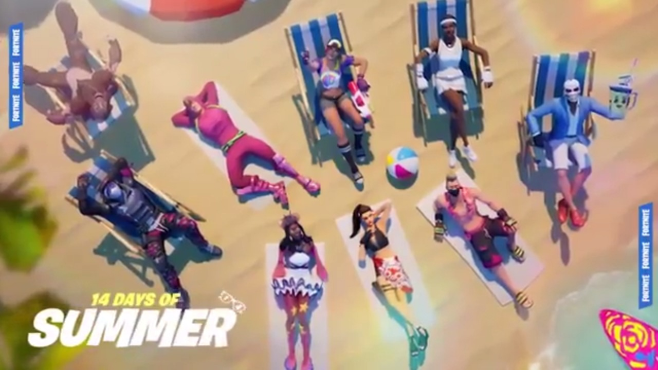 Fortnite 14 Days of Summer Skin released in item shop ahead of 1280x720