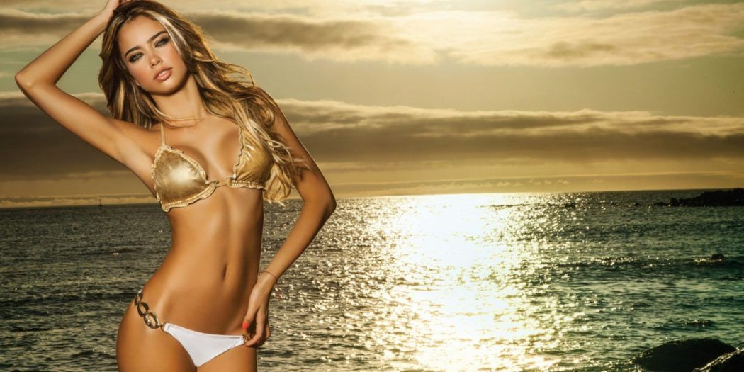 Pin on Bikini Girls Wallpapers 1050x525
