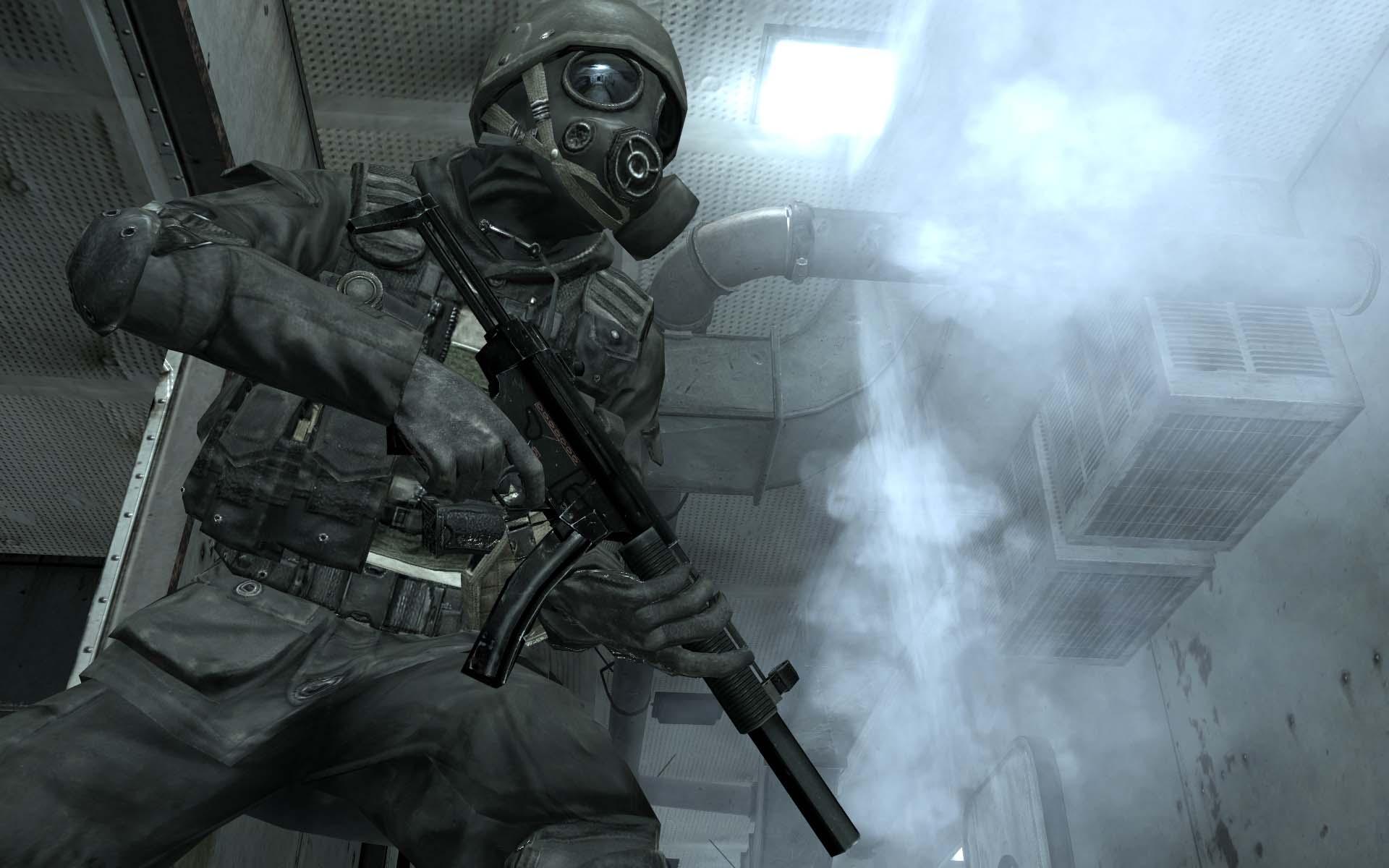 swat modern warfare sas or something cod call duty ps3 xbox game 1920x1200