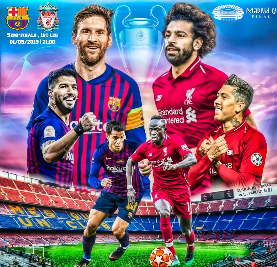 FC BARCELONA   LIVERPOOL CHAMPIONS LEAGUE 2019 by jafarjeef on 911x877