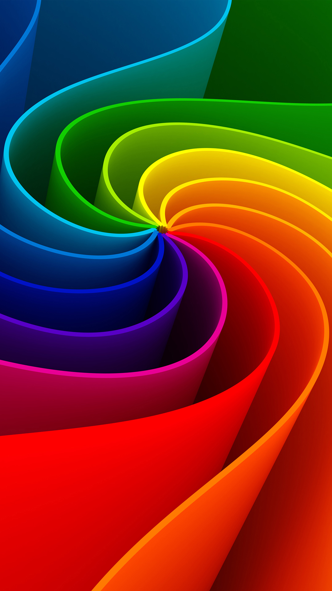 Colorful 3D Swirl iPhone 6 Wallpaper iPhone 6 Wallpaper iPhone 6 1080x1920