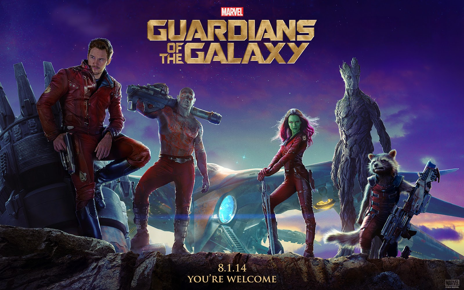 guardians of the galaxy wallpaper hd 1600x1000