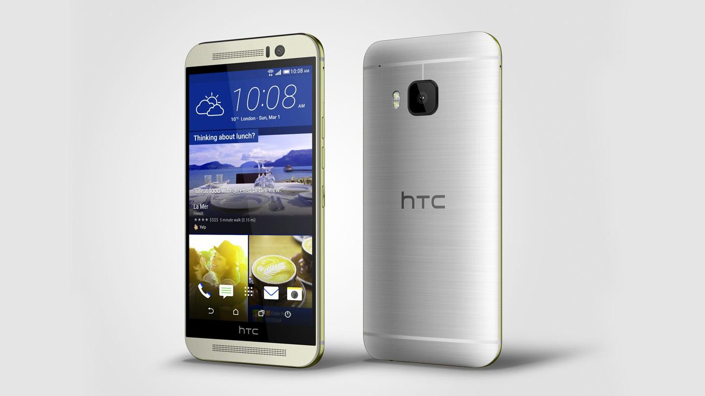 HTC One M9 Slim Smartphone   Choice Wallpaper 1360x765