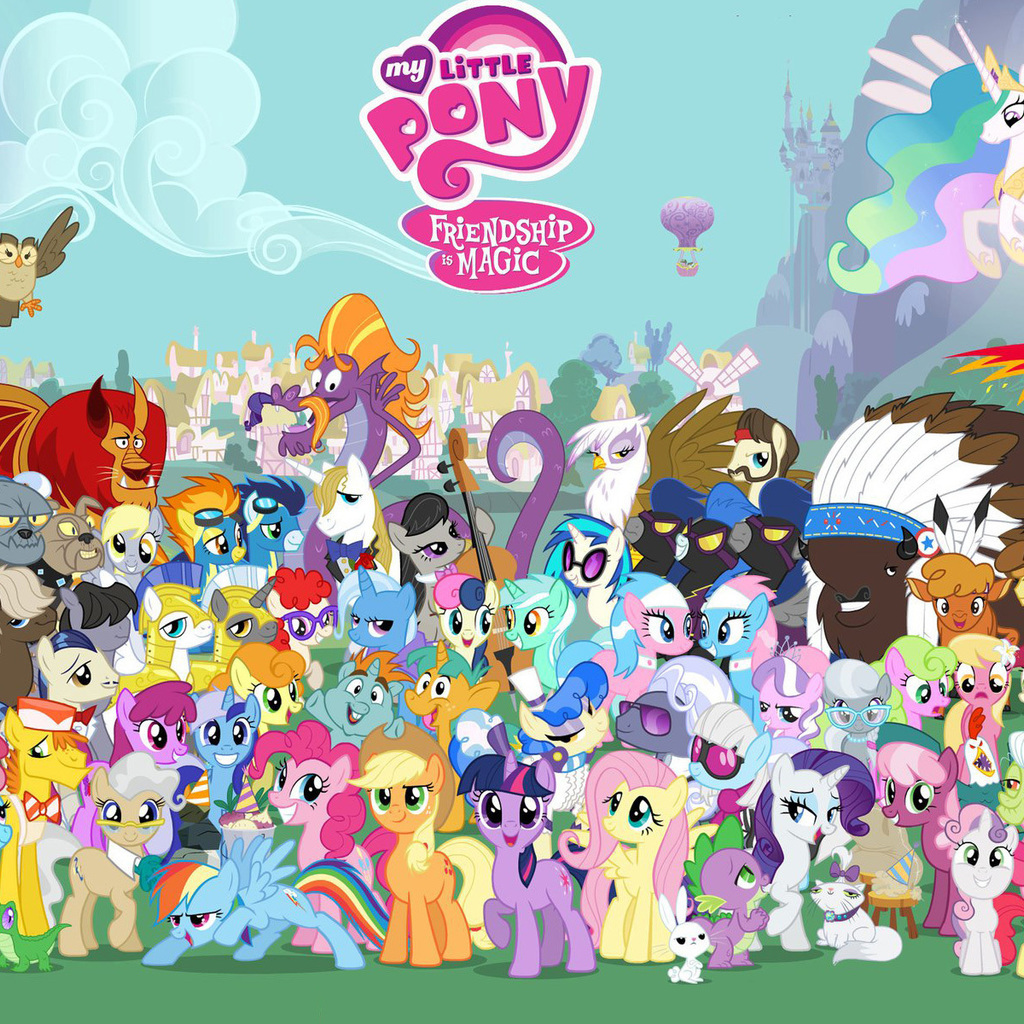 47 My Little Pony Wallpaper Ipad On Wallpapersafari