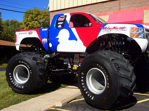 Bigfoot Monster Truck Wallpaper Bigfoot Monster Truck 500x375
