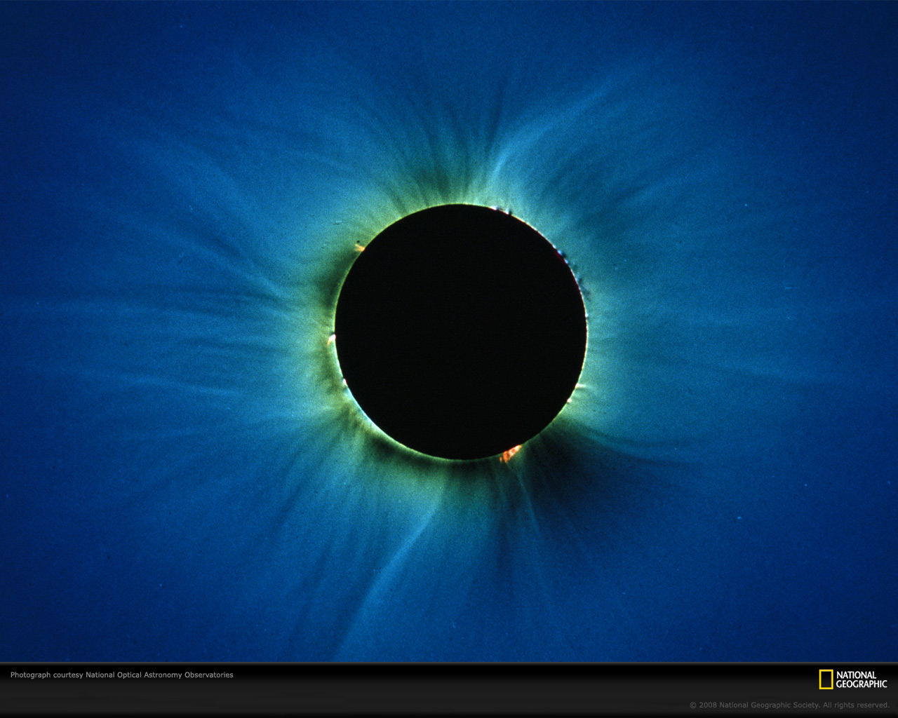 Solar eclipse wallpapers   Black And Yellow Baground